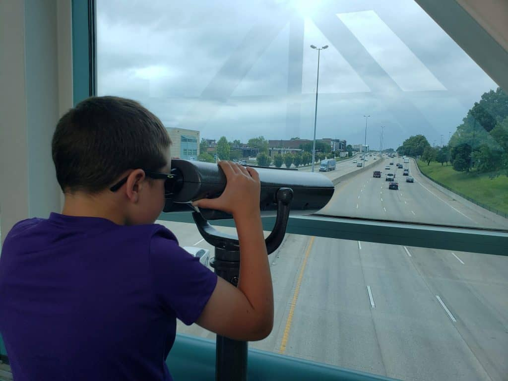 The overpass at the St. Louis Children's Museum - St. Louis on under $90 per day