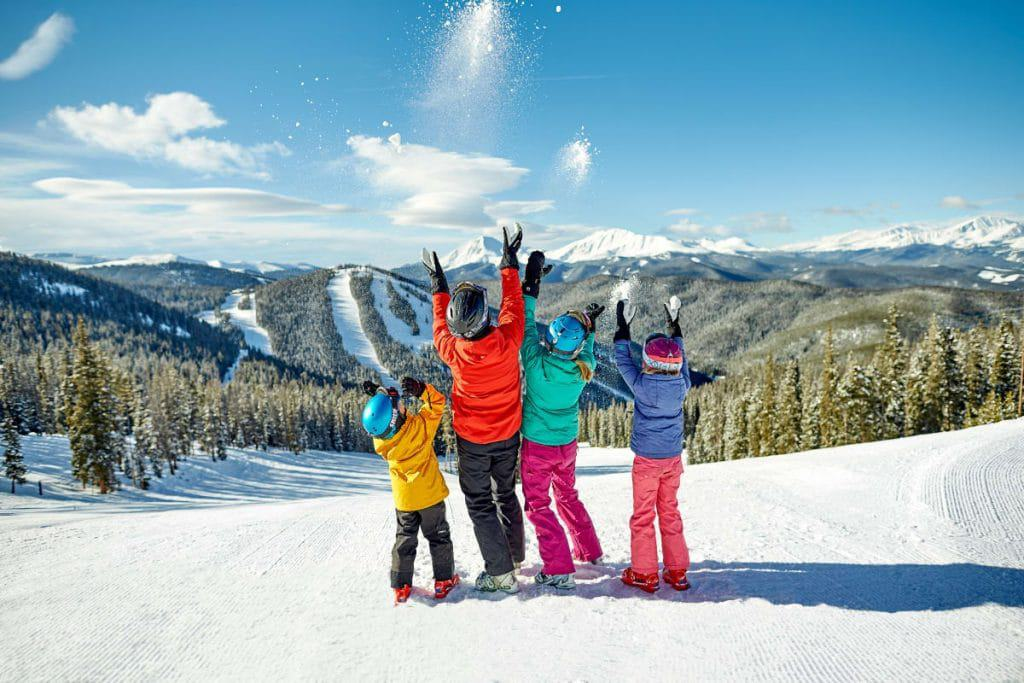 Best family ski resorts - Keystone Resort