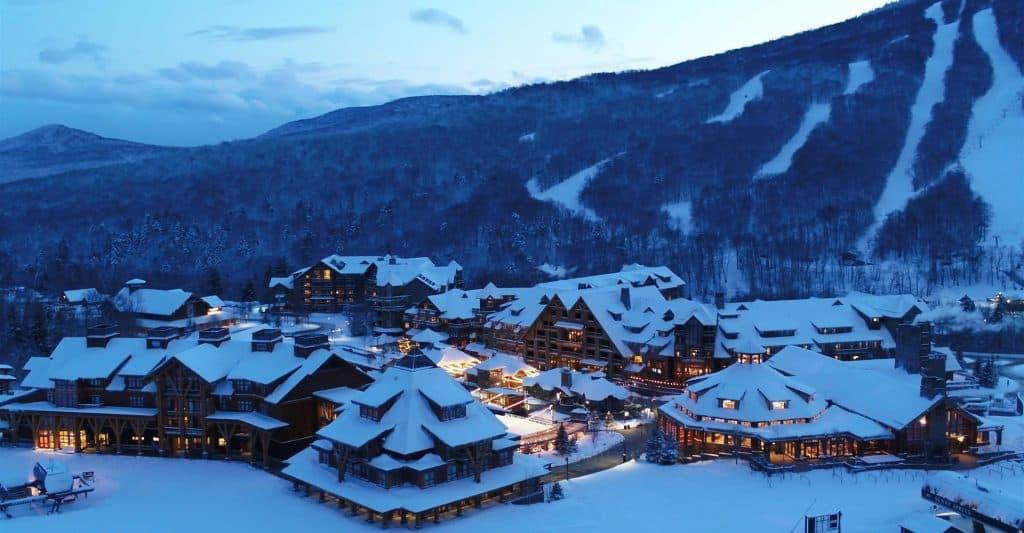 best family ski resorts - spruce peak vermont