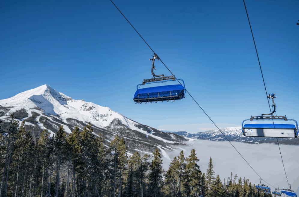 best family ski resorts - big sky montana