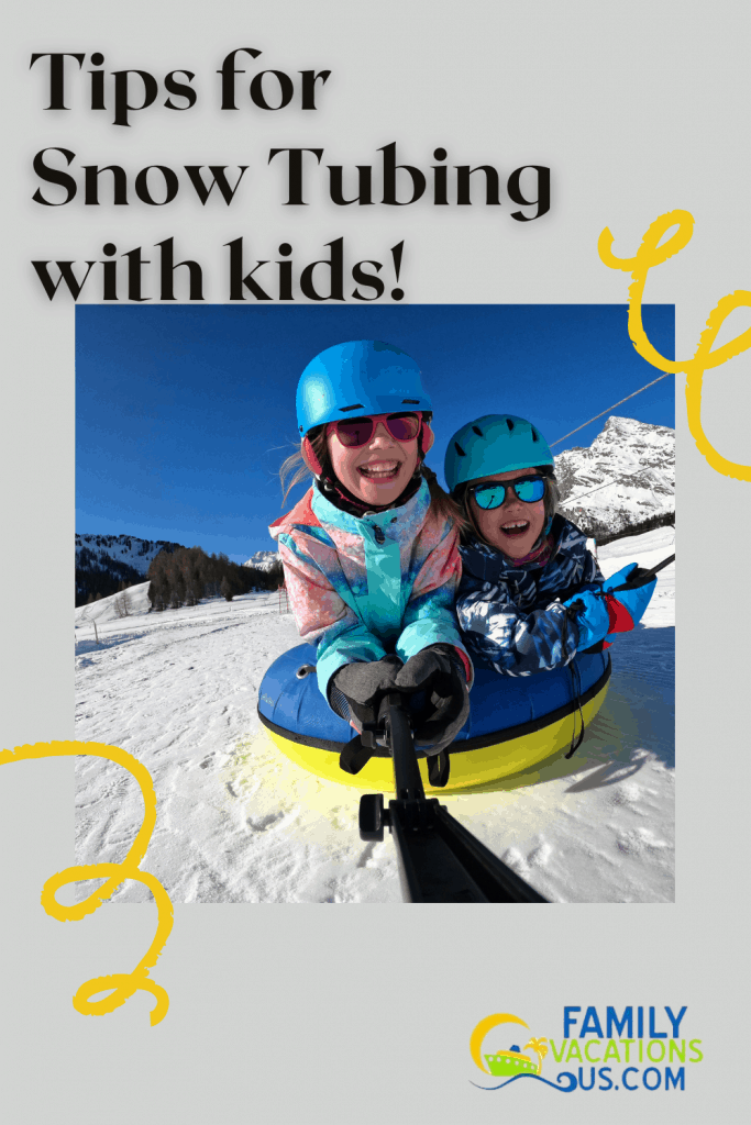Snow Tubing is an increasingly popular activity and requires no previous experience. Take a look at our tips for a successful snow tubing outing with kids of all ages!