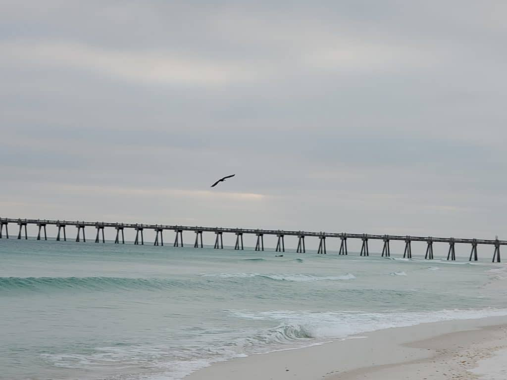 best family vacations on a budget - Pensacola Beach